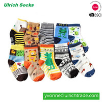 B2 fashion colorful cotton knitted baby toe socks