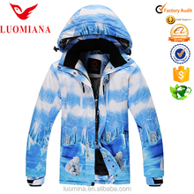 Sweden Insulated Ski Jackets Gilrs skiing snowboard Jackets Boys Snow suit outdoor camping & hiking16W300