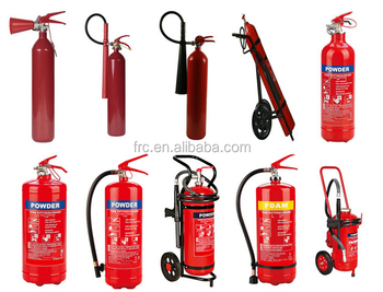 Portable Cold-Roll Steel ABC40 Dry Powder 6KG Fire Extinguisher