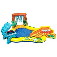 Details about Intex Dinosaur Inflatable Kids Play Center Swimming Pool /paddling pool