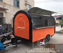food selling car mobile fast food car for sale