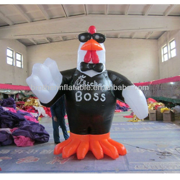 CA206 giant inflatable chicken for advertising
