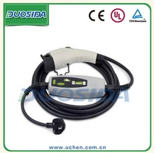 Support length of cable EV car charging plugs level 2 charger