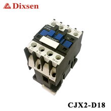 LC1-D Series 18A CJX2-1810 Ac Contactor