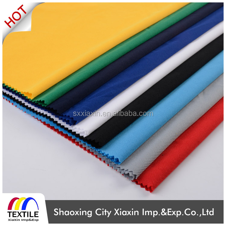 China suppliers shaoxing dri fit fabric coolmax lycra sportswear fabric