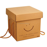Brown Kraft Paper Package Box Gifts