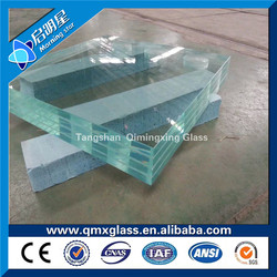 High Quality Clear Laminated Glass laminated glass roof