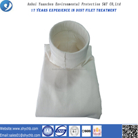 Custiomized Size PPS And PTFE Compound Bag Filter With Dimensional Stability