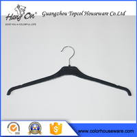 Pant Plastic Hangers With Clips , Colorful Plating Plastic Hanger