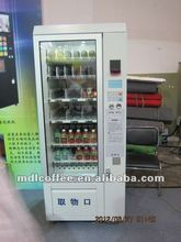LV-205CN-606 Saeco/Snack Vending Machine with Cooling System/Digital LCD Display