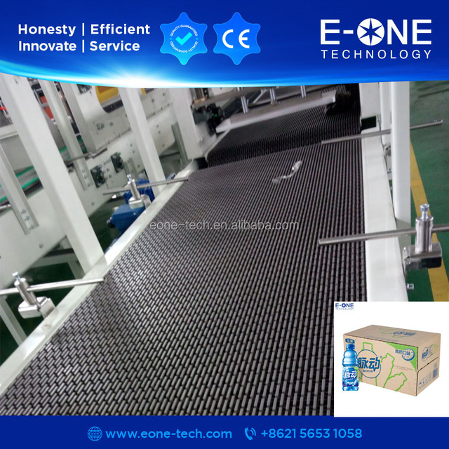 Plastic flexible slat chain conveyor for packaging accessories