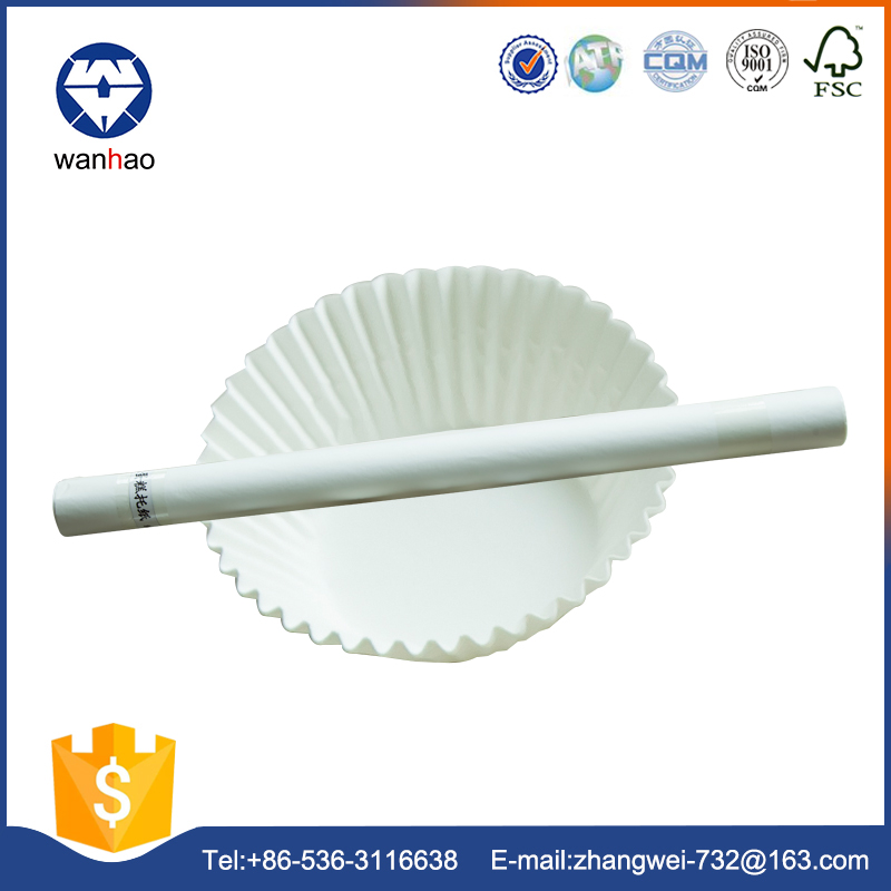 china supplier free samples greaseproof paper for cake cup