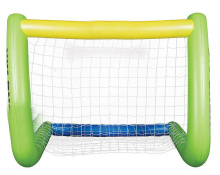 Oversized Inflatable Soccer Goal Ball And Large Post Kick Score Set