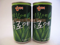 aloe vera juices/jus in slim tin canned