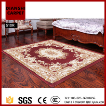 Floral Pattern Wall To Wall Rug Bedroom Carpet Tile Made In China