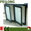 Good Looking Double Side Hinged Aluminum Window With AS2047