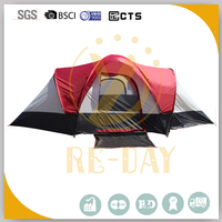 10 Person extra large camping tent for family