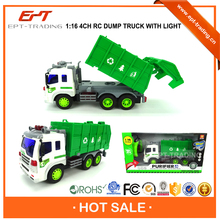 Hot selling 1 16 4CH rc dump trucks toy for sale