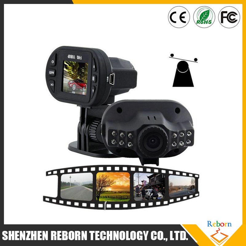 Best Selling C600 Full HD 1080P Car DVR With 12 LED Lights