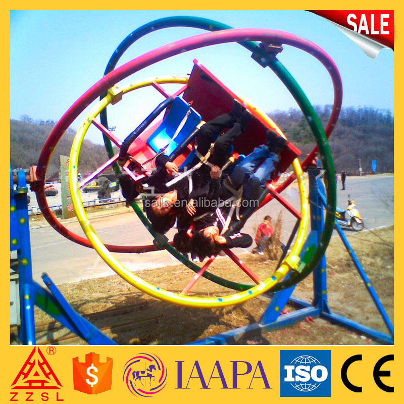 2017 hot style orbitron ride electric gyroscope for sale With Factory Wholesale Price