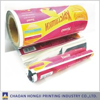 own design printed laminated film for Pasta packaging