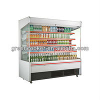 cake, sandwich, pastry, sushi open display upright showcase cooler chiller for bakery