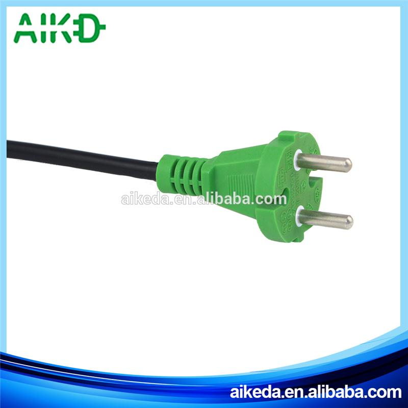 Professional Multifunctional Plastic Italy Standard 2 Pin Ac Power Cord