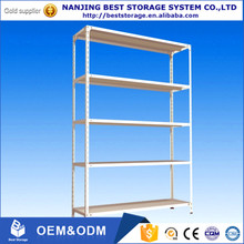 Easy installed ligh duty slotted angle iron storage racks
