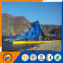 China Qingzhou Dongfang Chain Bucket Gold Dredger & gold mining equipment