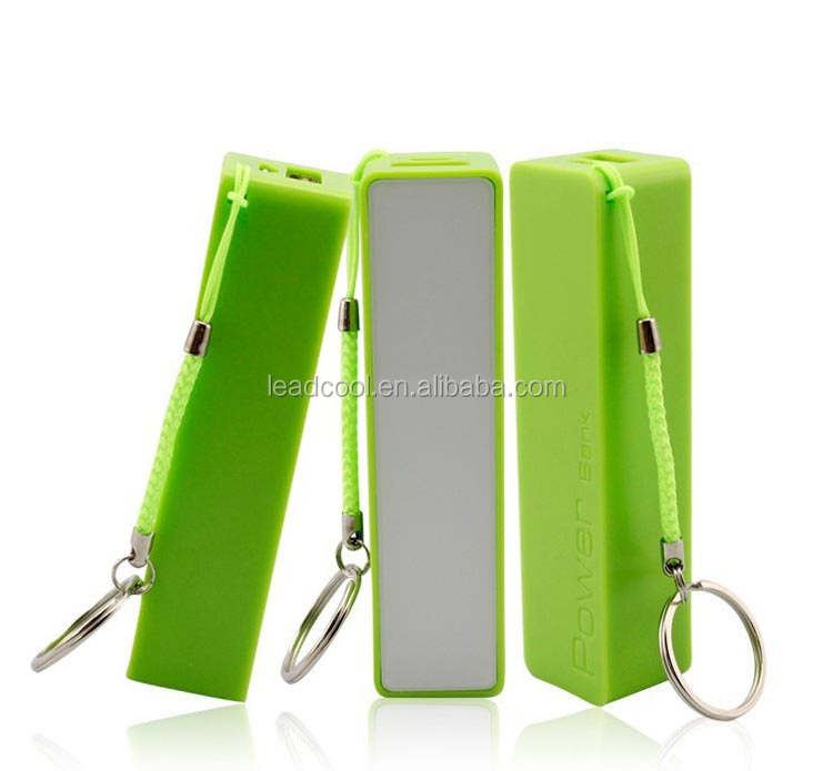 alibaba china 2600mah keychain mobile emergency charger