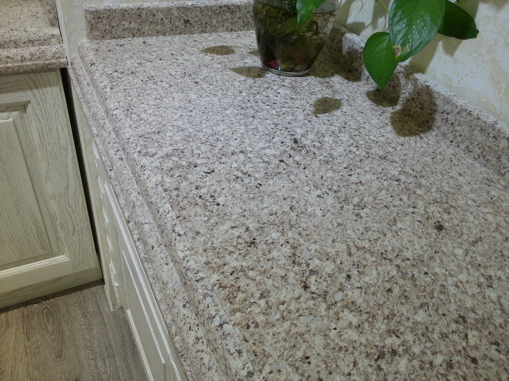 Faux stone for interior panels type quartz stone kitchen for Type of quartz countertops