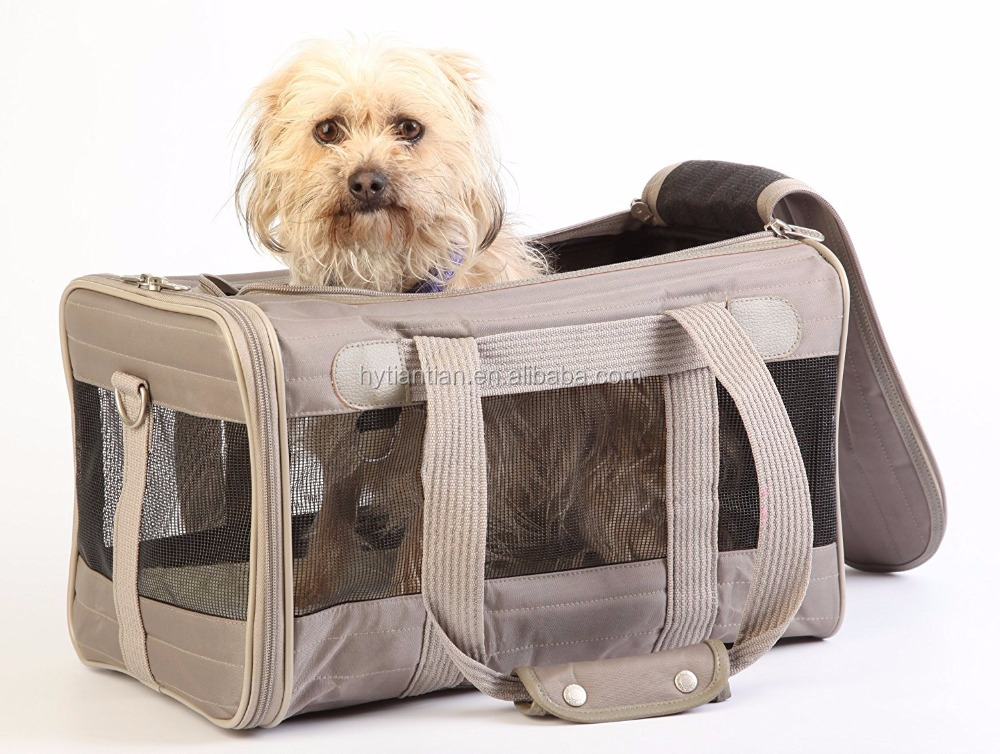 Pet-Large Soft Sided Deluxe Pet Carriers