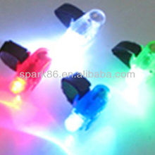 color changing LED finger light in party