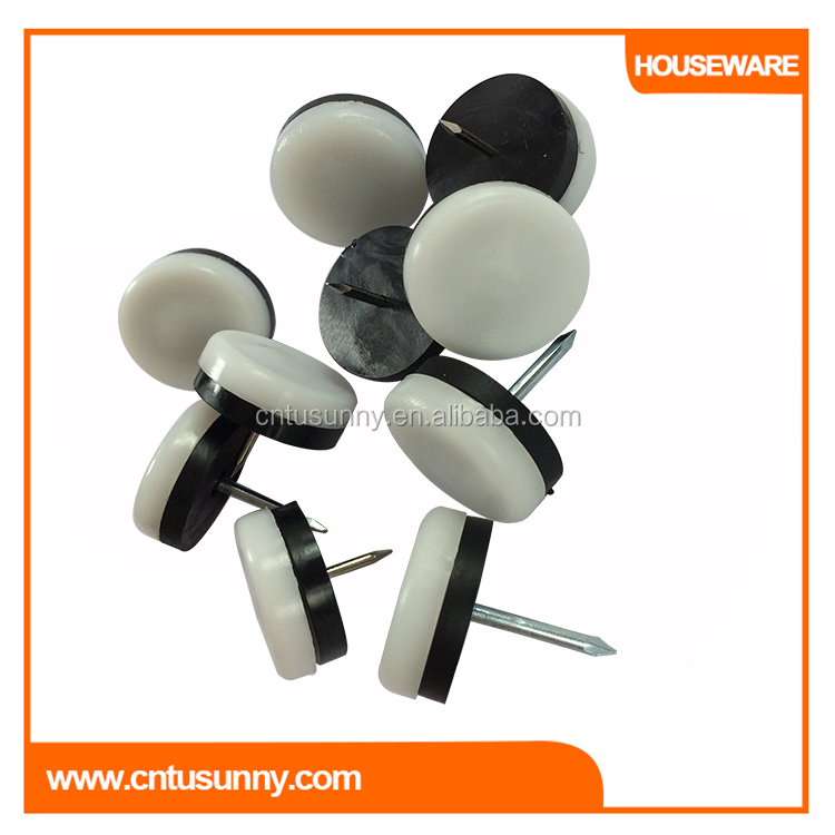 adjustable new fashion chair leg plastic glides