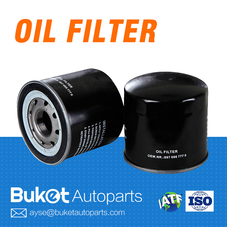 High efficiency spin-on car/auto oil filter for Japanese car SAMPIYON NPR (8-97096-777-0 ZP3072 BC- 1240)