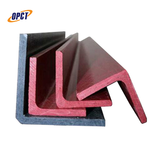 Plastic reinforced frp fiberglass pultruded equal l angle
