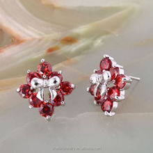New imitation jewellery making material ladies earring design pictures
