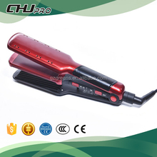 Colorful factory professional steam hair crimper and straightener with best price