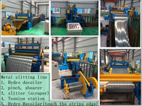 850mm type stainless steel coil slitting machine