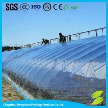 Hot sale plastic-film greenhouse with shading system