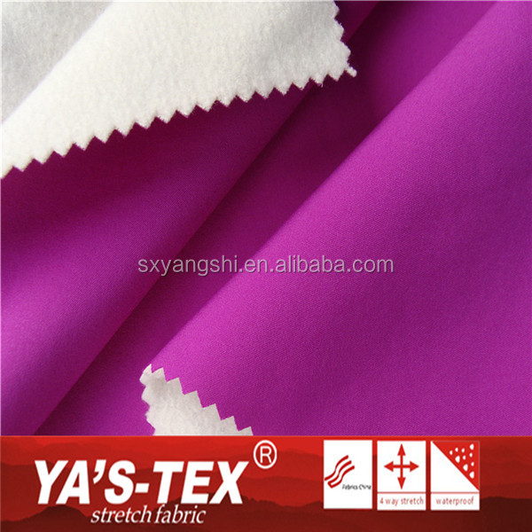 High Quality Quick Dry Moisture Wicking Polyester Fleece Fabric For Outdoor Sportswear