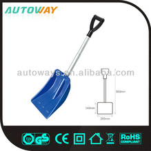 telescopic collapsible snow shovel with aluminum handle