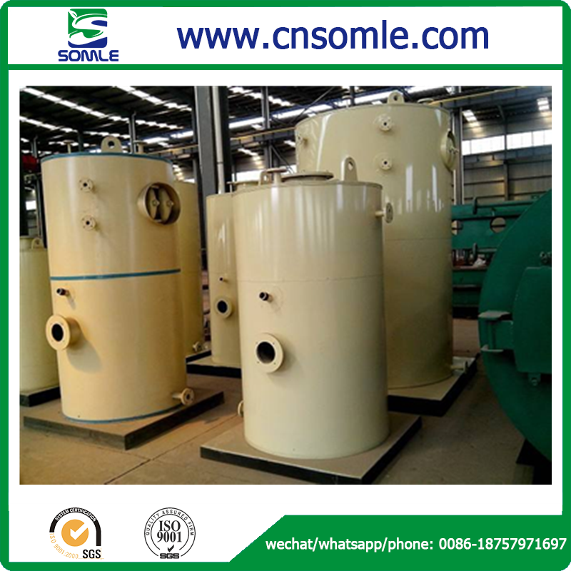 Environmental friendly low emission high pressure CFB hot water boiler