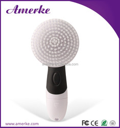 Factory price plastic facial cleaning brush personal massager