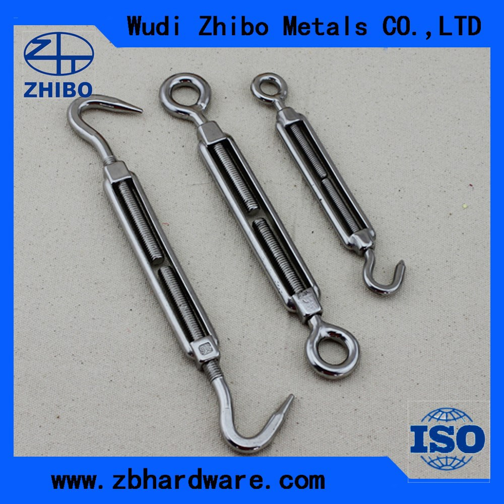 Stainless Steel EU Type Turnbuckle Manufacturer / Factory In China
