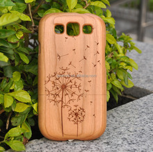 Fantastic New High-quality Pure Wooden Cell Phone Case Carved Phone Case Back Covers