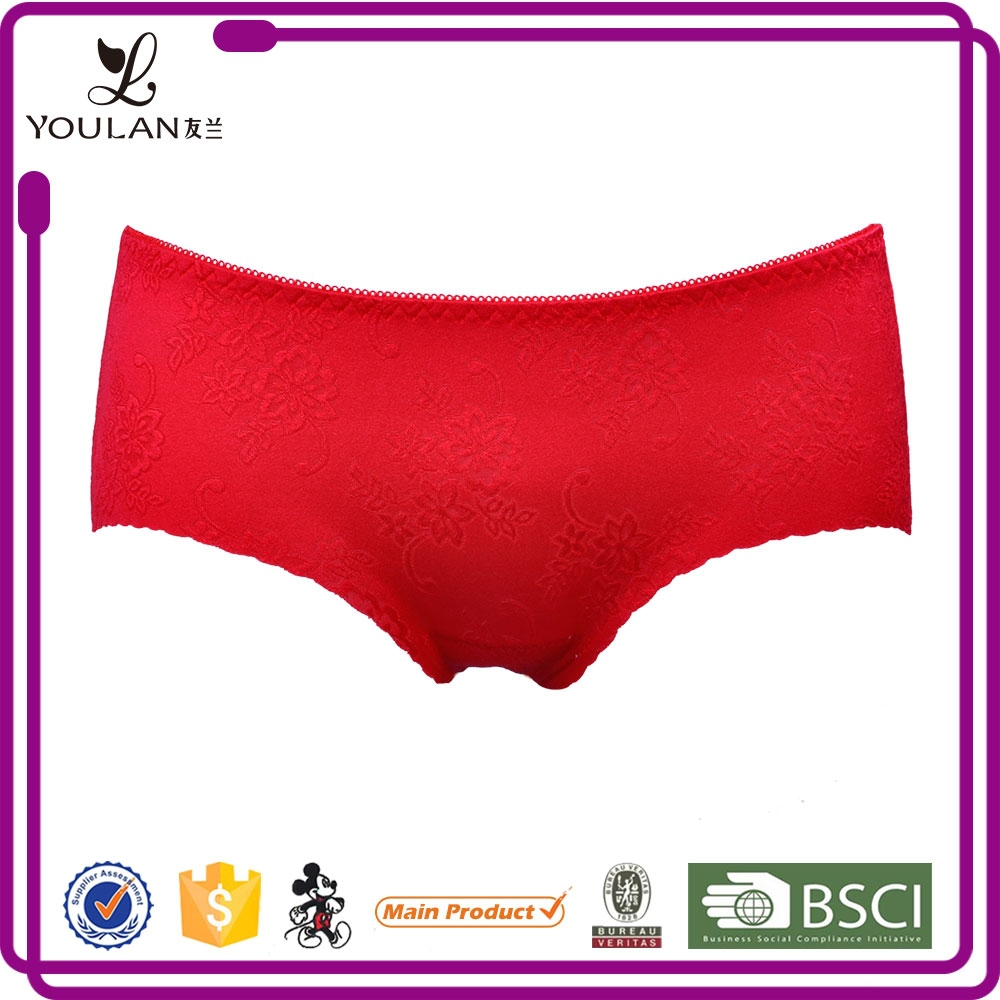 2015 New Arrival Top Material Sexy Women Red Sex Girl Indian Panty