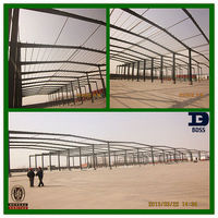 steel structure construction project
