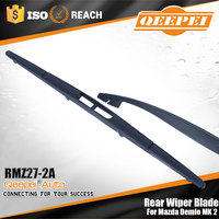 New arrival oem quality auto parts rear screen wiper blade rain x wiper blade exact fit for Mazda Demio MK 2 (DY)