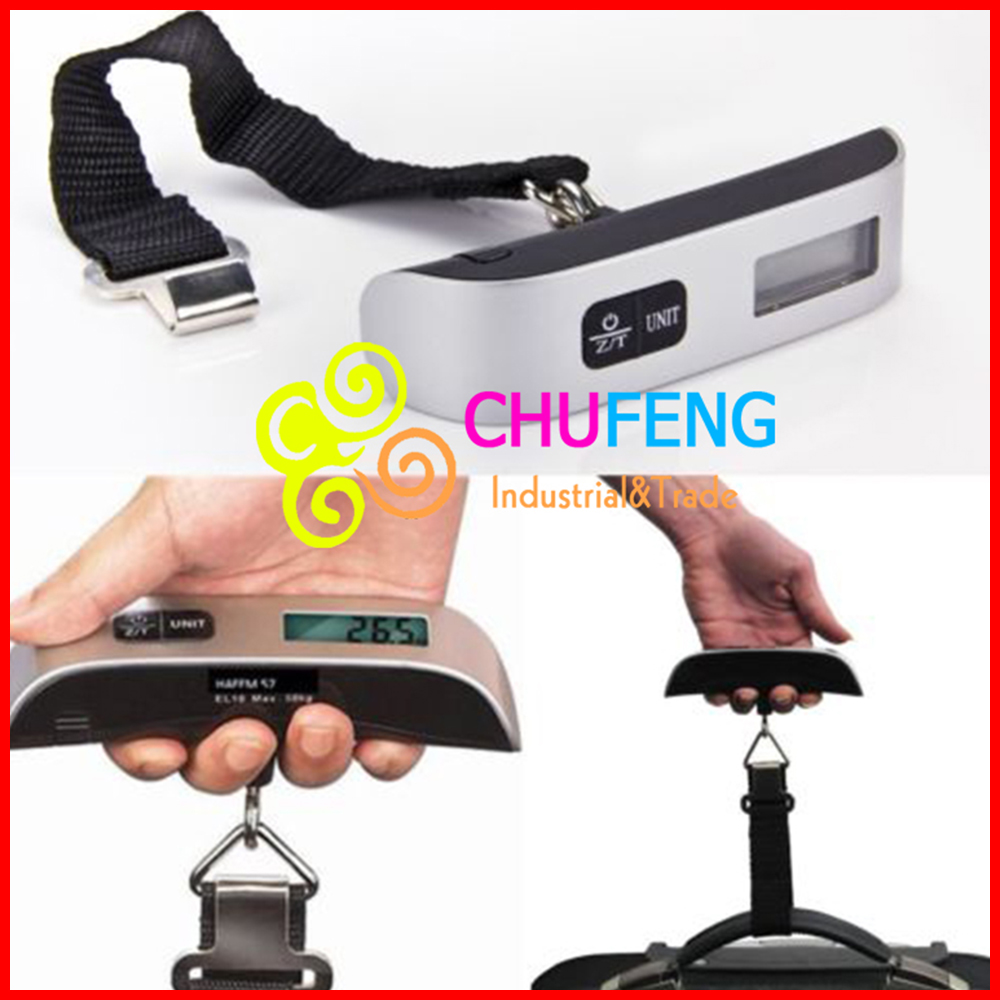 Free Shipping! Electronic Luggage <strong>Scale</strong> With Built-In Backlight T Shape